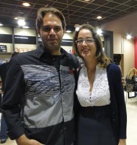 George Pavlopoulos with Evangelia Avloniti.
