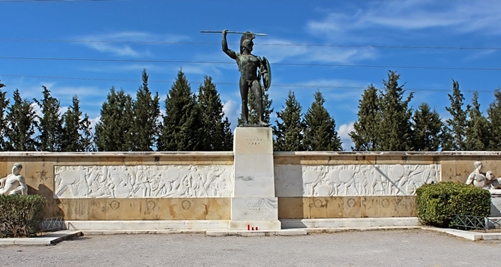 Celebration for the 2500 years from Battle of Thermopylae